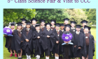 5th class Science Fair and Visit to UCC
