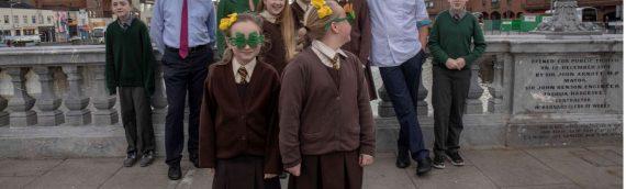 Celebrating the repair of St. Patrick's Bridge