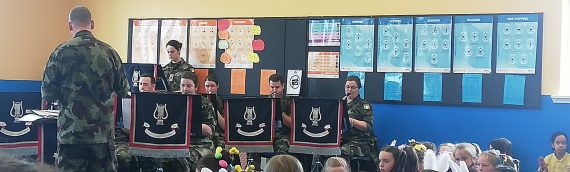 Visit from the Collins Barracks Army Band