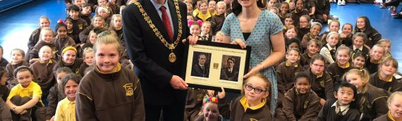 Visit of Lord Mayor John Sheehan to our school last Thursday